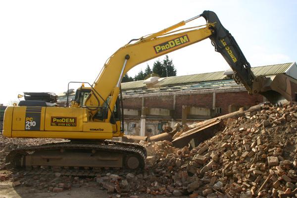 360 excavator hire in Nottingham
