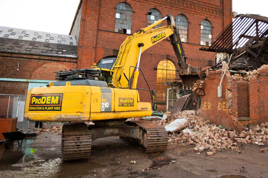 Plant hire in Nottingham