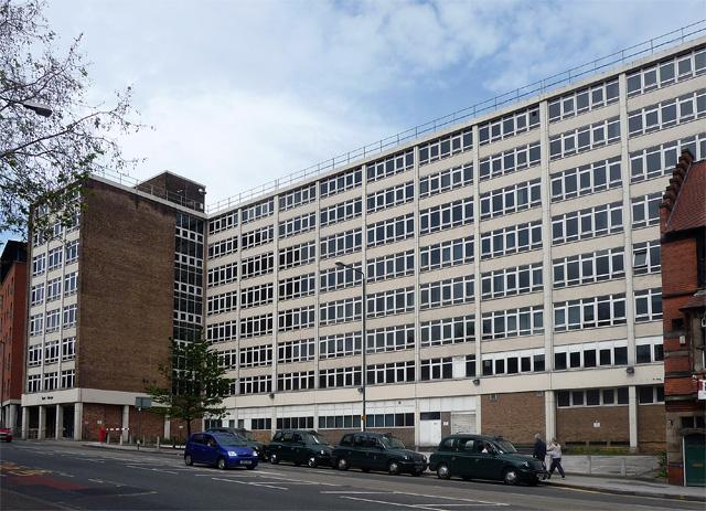 York House, Mansfield Road, Nottingham - Before Demolition