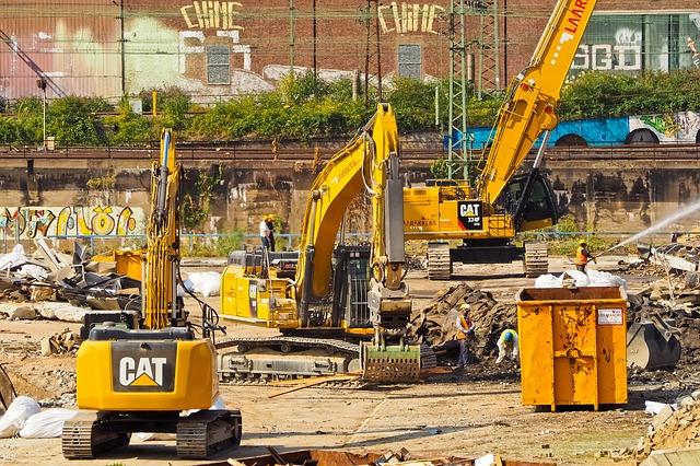 Demolition in Nottingham